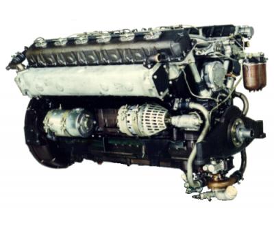 Дизель 1Д12-400БС2