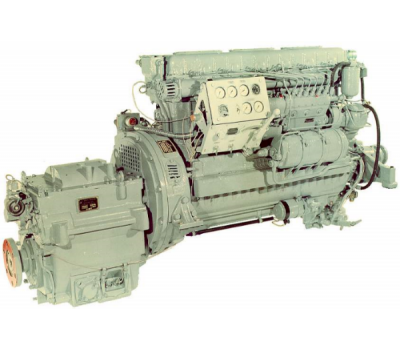 Главные судовые дизели 3Д6